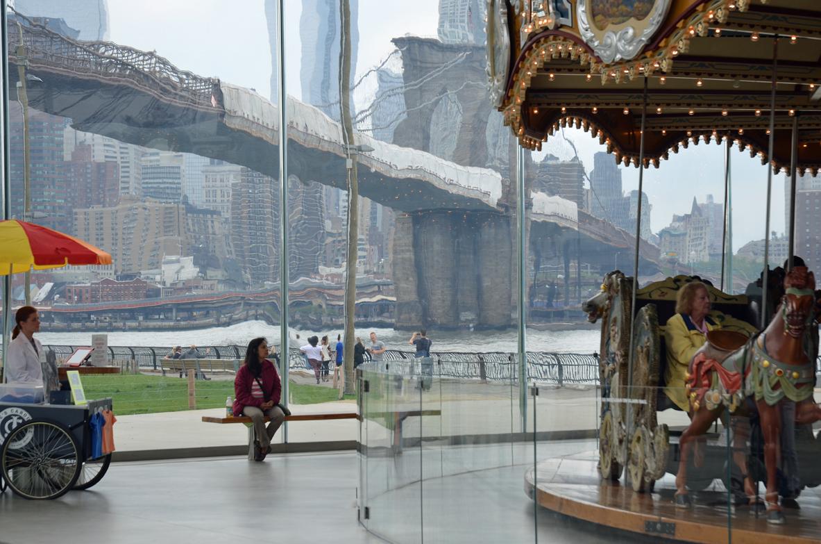 """Bridge 1,"" Lorena Levesque Gregor, 2013"